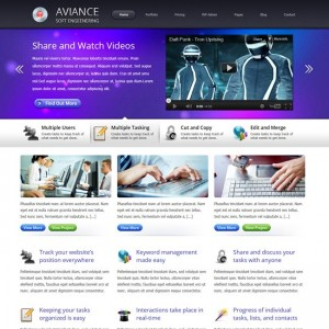 Aviance – Creative and Business WordPress Theme