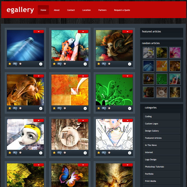 eGallery by Elegent Themes