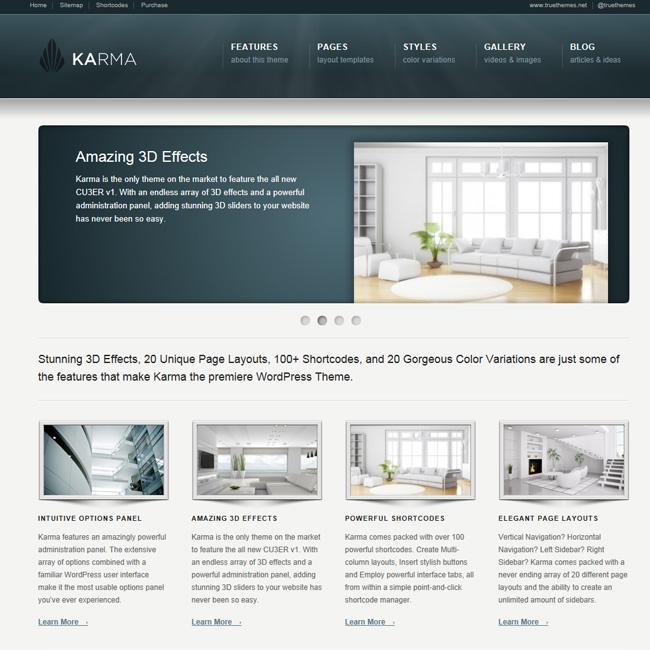 Karma – Clean and Modern WordPress Theme