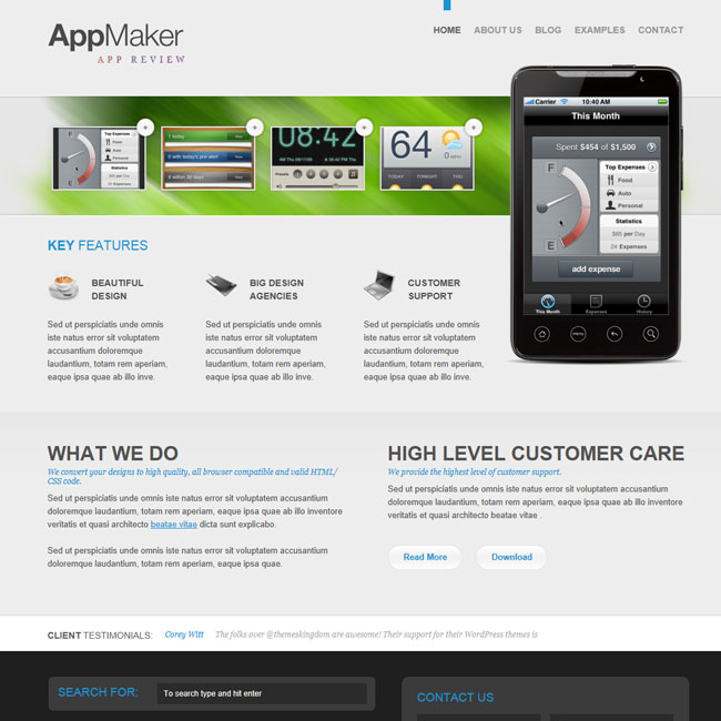 AppMaker – Premium WordPress Theme