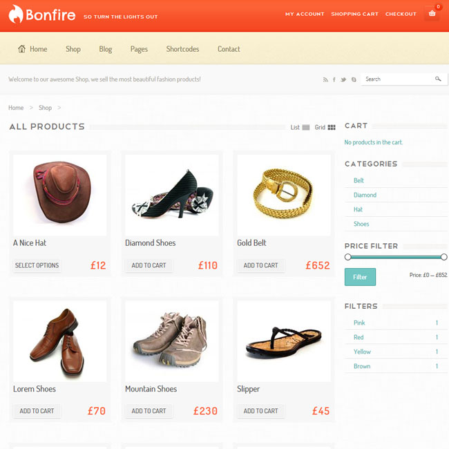 Bonfire - eCommerce WordPress Theme | Premium WordPress Themes