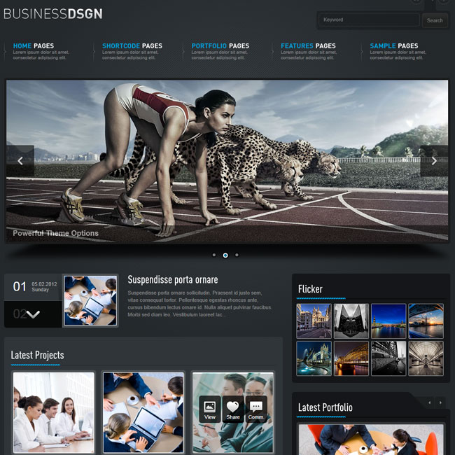 Business Design – Powerful WordPress Theme