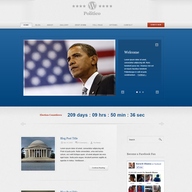 Politico – Premium WordPress Theme