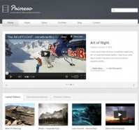 Primero – WordPress Theme for Video or Photography Website