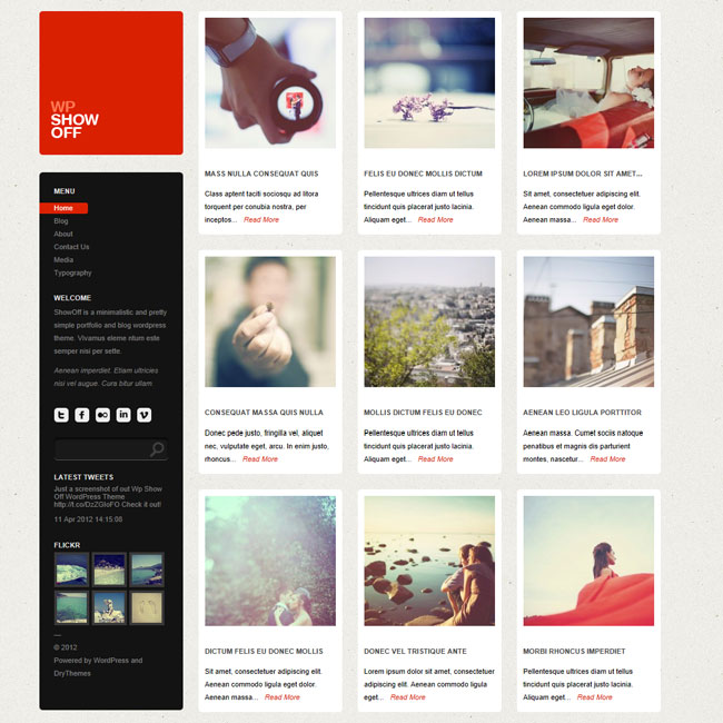 Wp Show Off – Portfolio & Blog Premium WordPress Theme