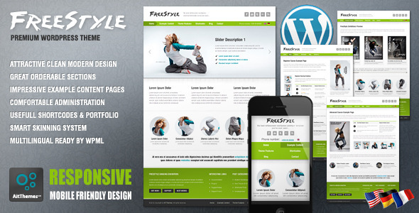 Freestyle responsive wordpress theme best wordpress themes 2017 freestyle responsive wordpress theme pronofoot35fo Image collections