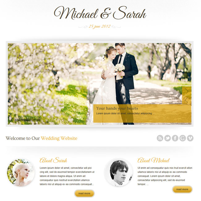 Top 10 Wedding Wordpress Themes In 2017 Skywarrior Themes