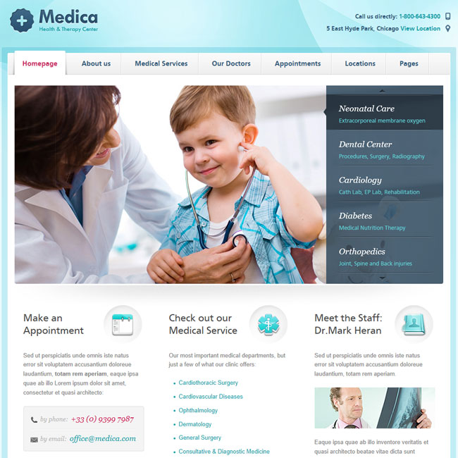Medical WordPress Theme | Best WordPress Themes 2017