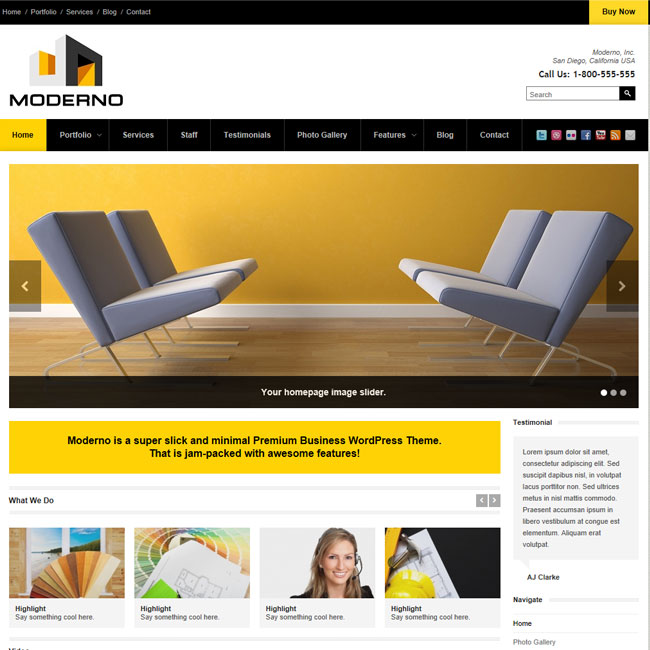 Moderno premium corporate wordpress theme best wordpress themes 2018 moderno premium corporate wordpress theme maxwellsz
