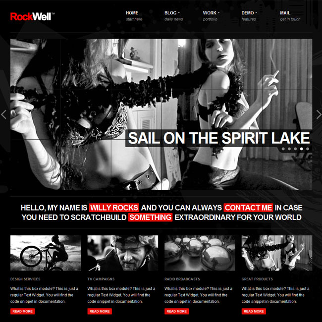 RockWell - Portfolio and Blog WordPress Theme | Premium WordPress Themes