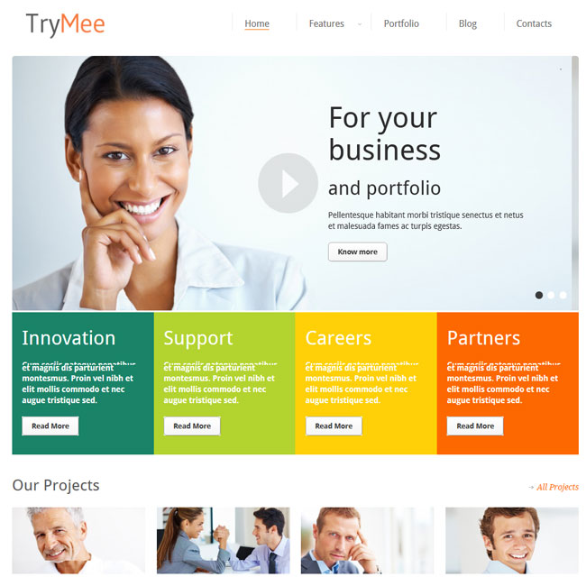 Trymee responsive corporate wordpress theme best wordpress trymee responsive corporate wordpress theme maxwellsz