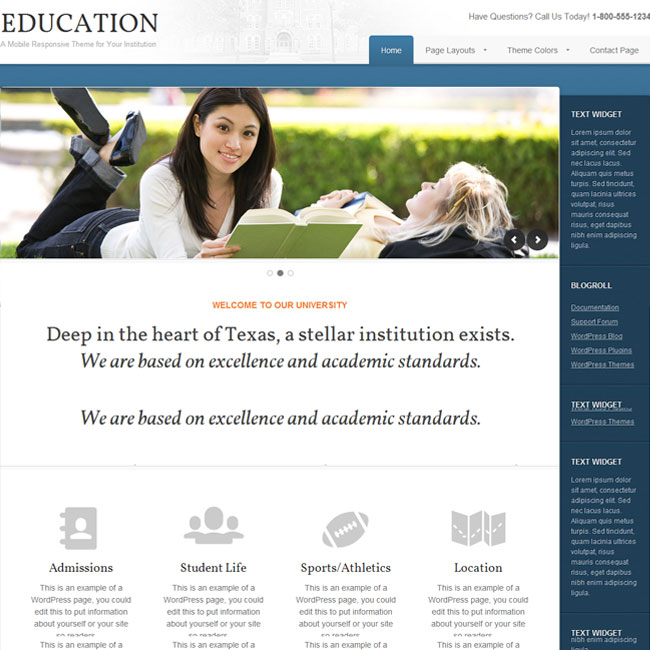 Education WordPress Theme by StudioPress