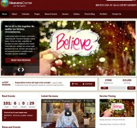 Heaven's Corner Church WordPress Theme