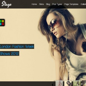 Stage WordPress Theme – Full Screen Slider
