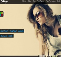 Stage WordPress Theme – Full Screen Slider
