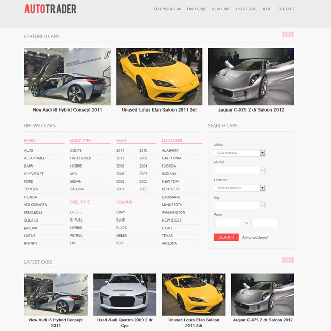 Autotrader WordPress Theme | Best WordPress Themes 2018