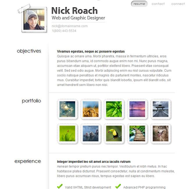 MyResume WordPress Theme by Elegant Themes