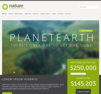 Nature Responsive WordPress Theme