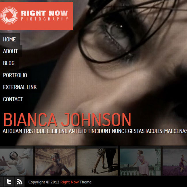 RightNow Video WordPress Theme