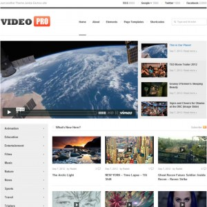 VideoPro WordPress Theme for Video Websites