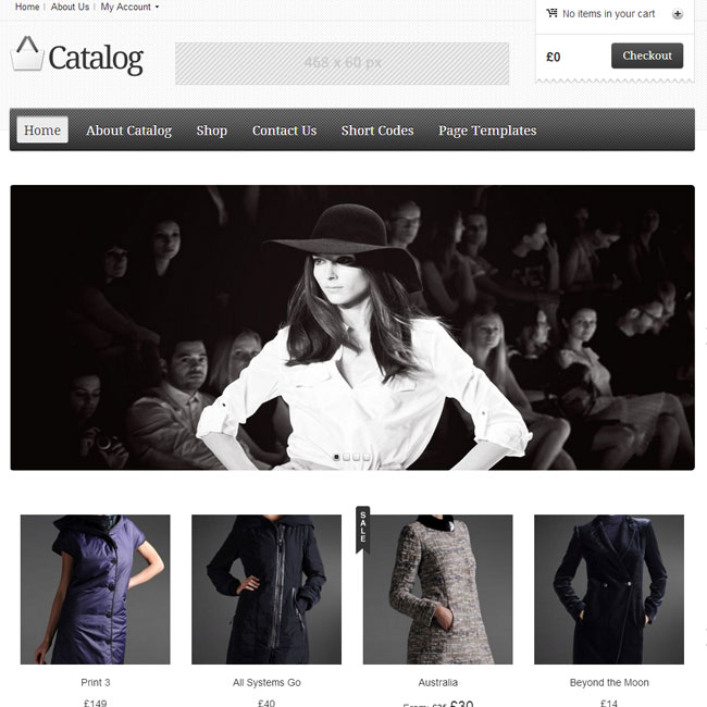 Catalog eCommerce WordPress Theme