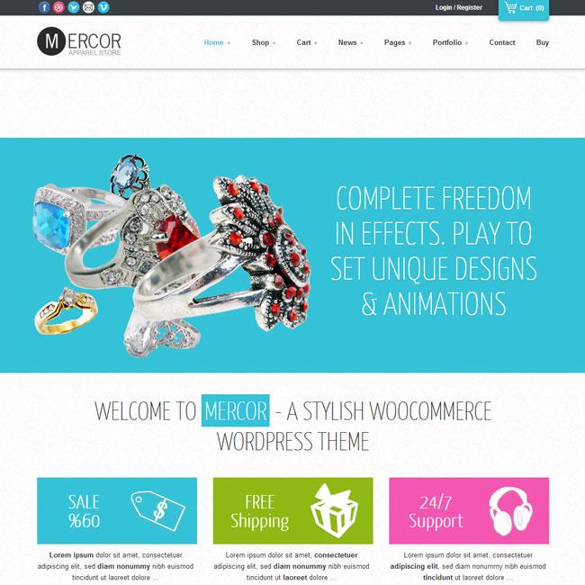 Mercor – eCommerce WordPress Theme