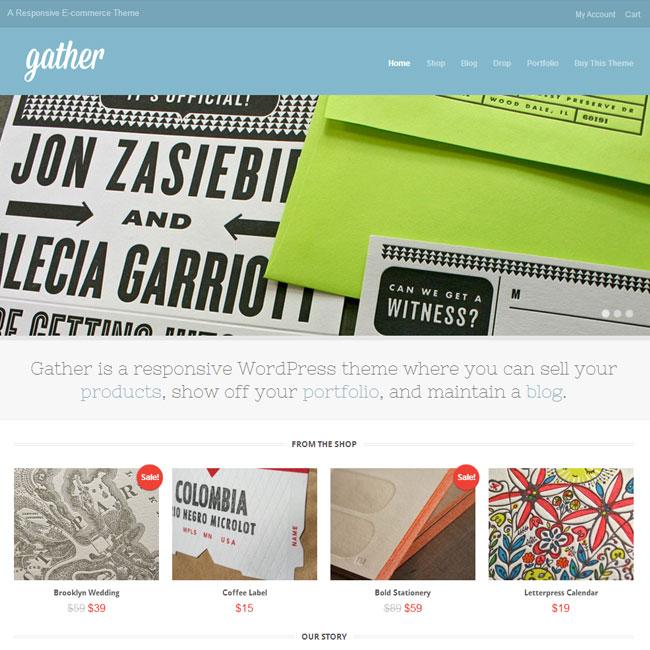 Gather eCommerce WordPress Theme