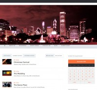 Nightlife WordPress Theme for Event Websites