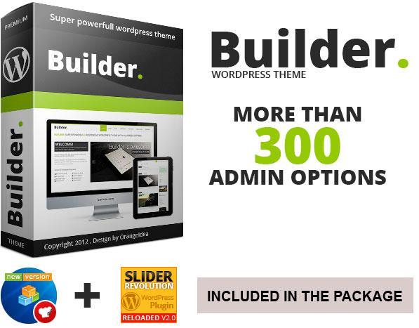 BUILDER Multi-Purpose WordPress Theme | Best WordPress Themes 2017