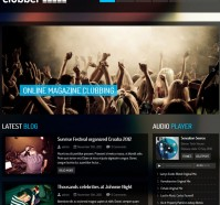 Clubber WordPress Theme for Event, Music Websites
