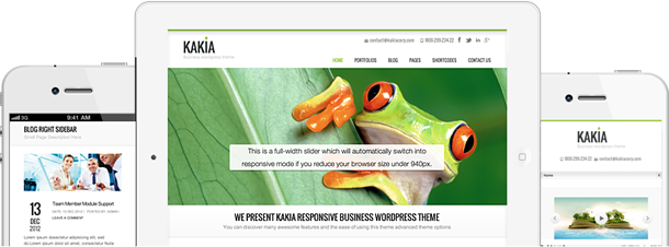Kakia WordPress Theme - Responsive
