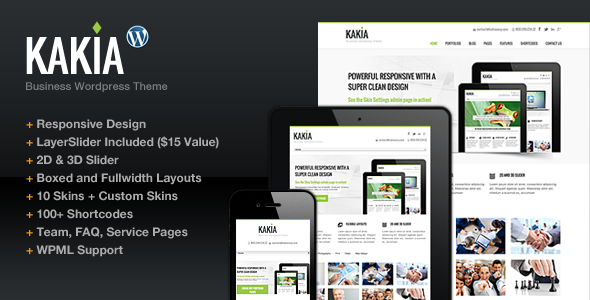 Kakia WordPress Theme