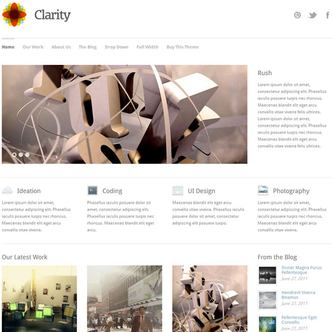 Clarity WordPress Theme by Theme Trust