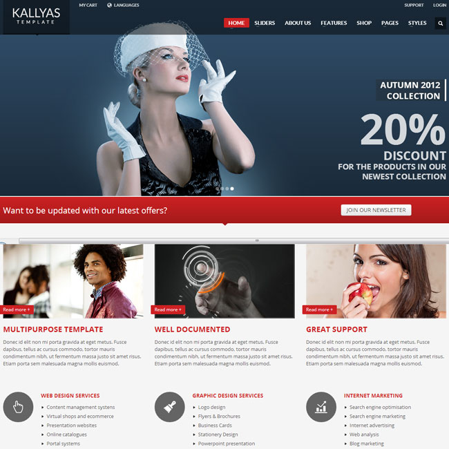 KALLYAS Multi-Purpose WordPress Theme