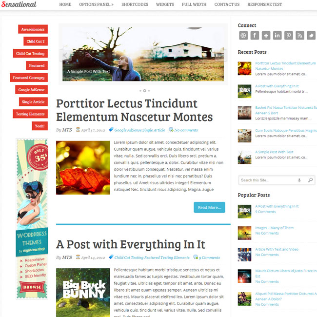 Sensational WordPress Theme by MyThemeShop