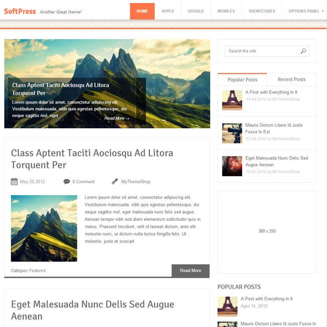 SoftPress WordPress Theme by MyThemeShop