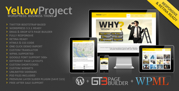 YellowProject WordPress Theme