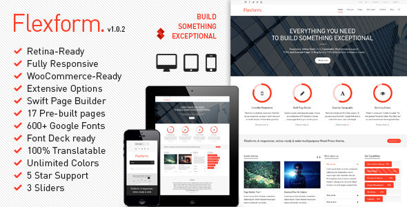 Flexform WordPress Theme