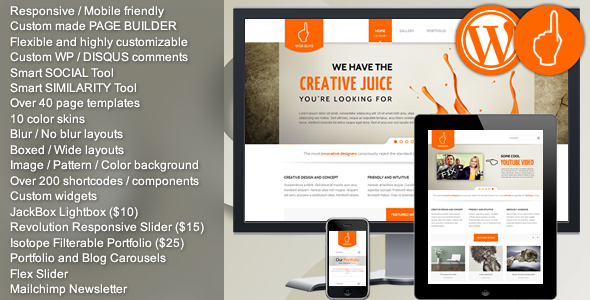 Wise Guys WordPress Theme