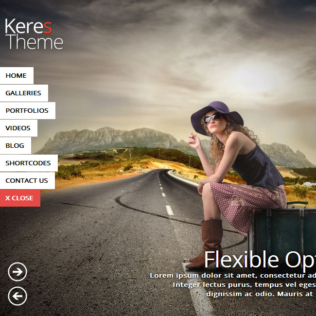 Keres WordPress Theme for Photography Websites