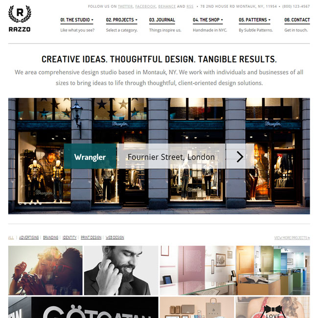 Razzo WordPress Theme for eCommerce Websites