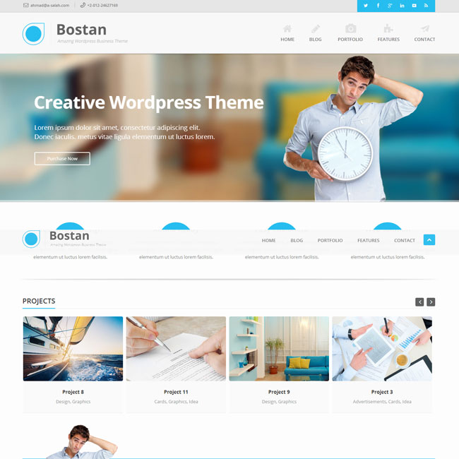 Bostan Multi-Purpose WordPress Theme