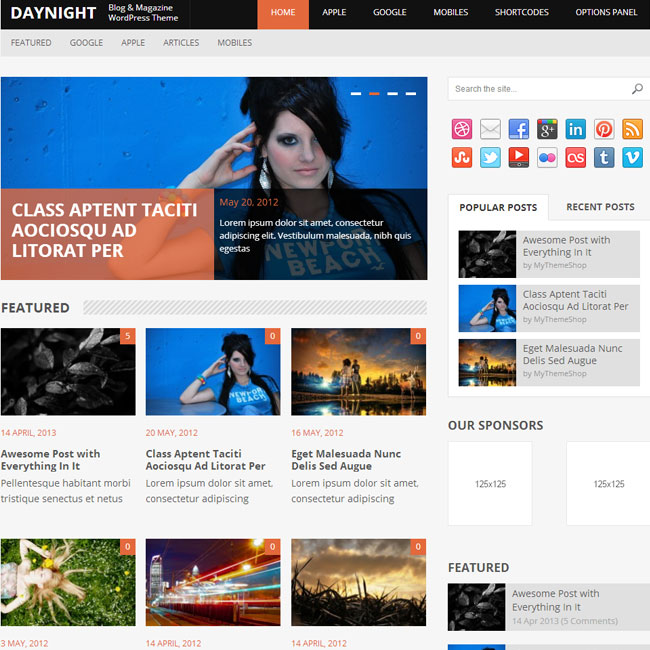 DayNight WordPress Theme by MyThemeShop