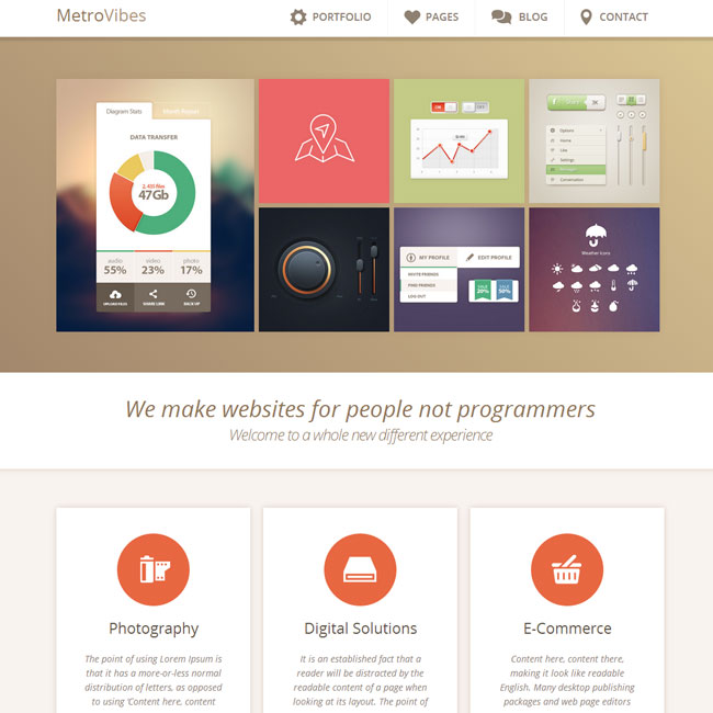 Metro Vibes WordPress Theme