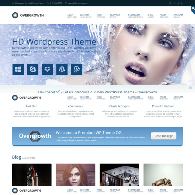 Overgrowth Multi-Purpose WordPress Theme