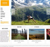 Socha WordPress Theme