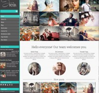 Inzin Blog WordPress Theme
