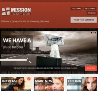 Mission WordPress Theme for Churches