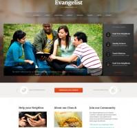 Evangelist WordPress Theme for Churches