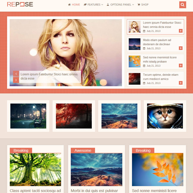 Repose WordPress Theme by MyThemeShop